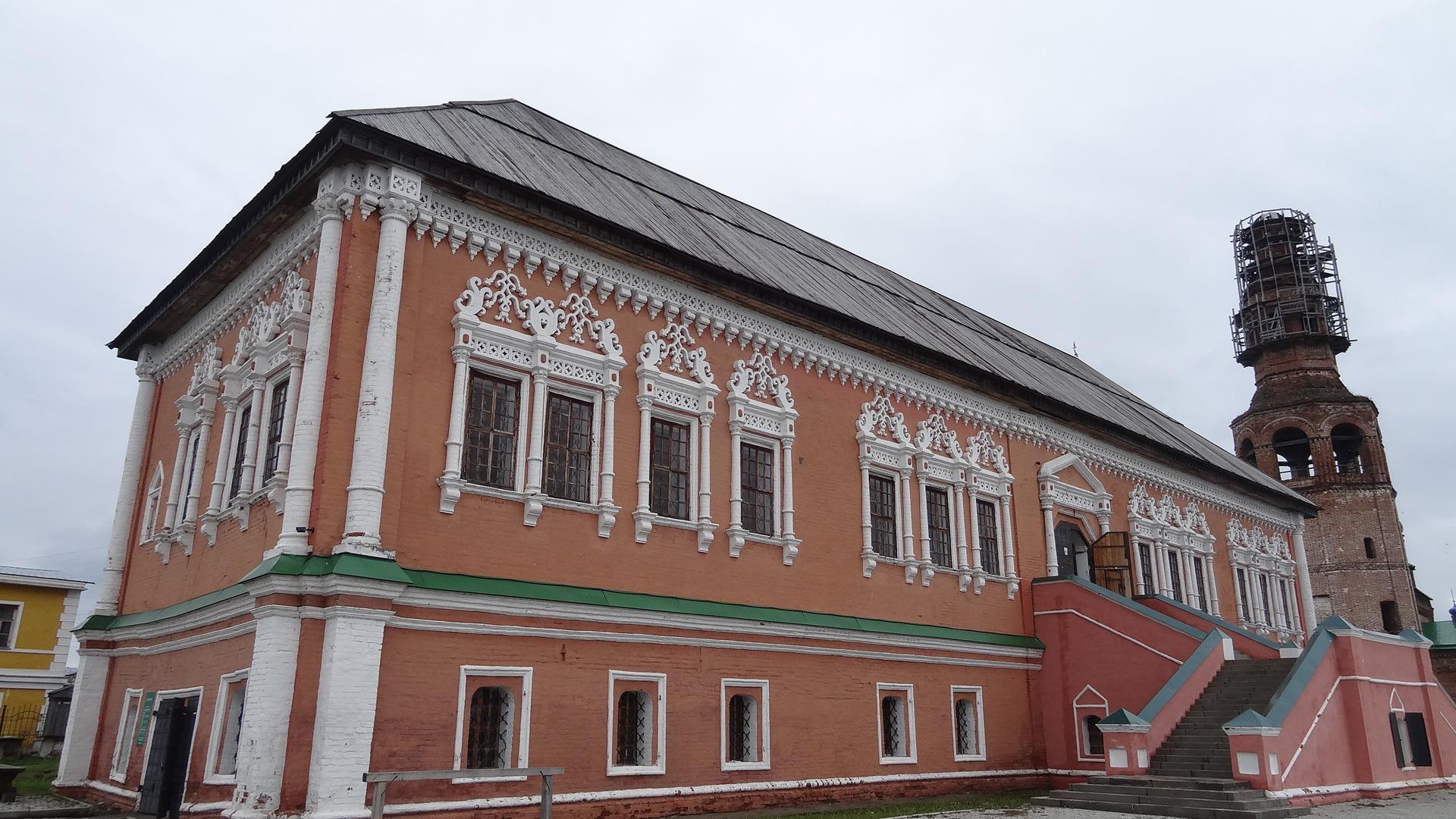 Дом (палаты) Строгановых Усолье Пермский край