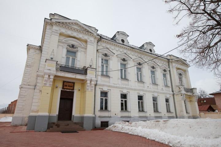 Усадьба М.А. Павлова главный вход