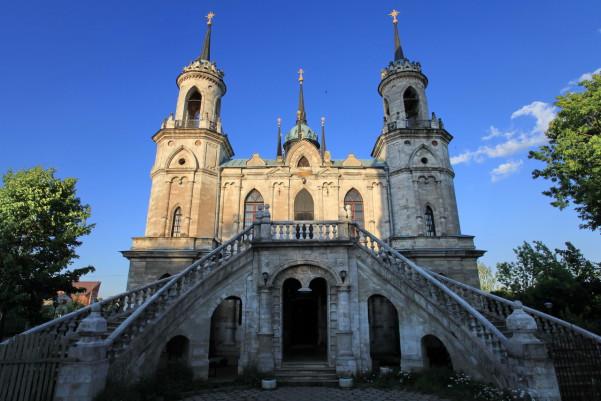 Храм Владимирской иконы Божией Матери усадьба быково