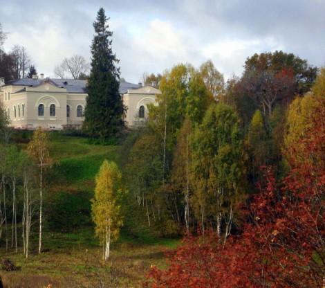 Усадьба «Хвалевское» вид из парка