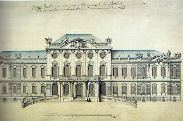 Елизаветинский дворец план