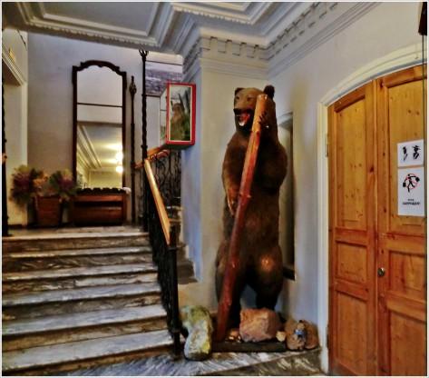 Мишка визита Миасского краеведческого музея