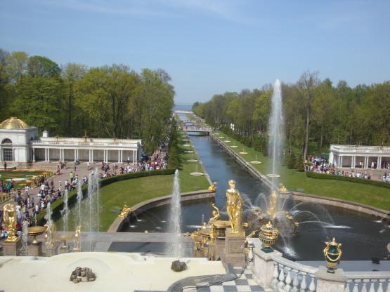 Нижний парк и канал