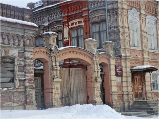 Парадные ворота усадьба Симонова