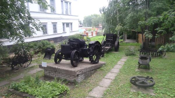 Экспонаты музея г. Чердынь