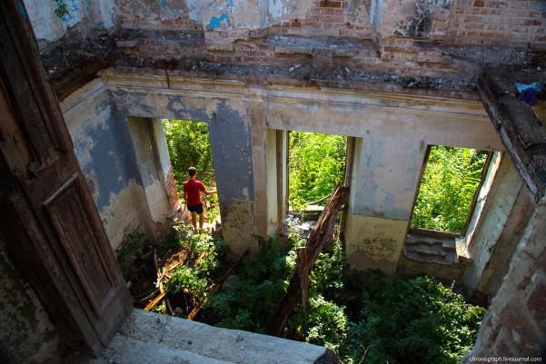 усадьба орловых-давыдовых руины
