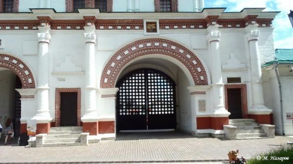 Ансамбль передних ворот, 1672-73 гг.