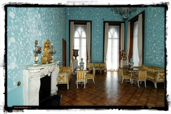 Голубая гостиная Воронцовский дворец
