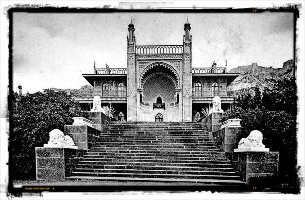 Воронцовский дворец старое фото
