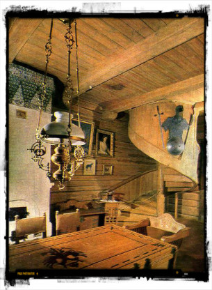 гостиная дома Васнецова