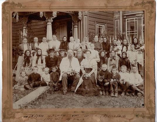 семья сазонова и соседи