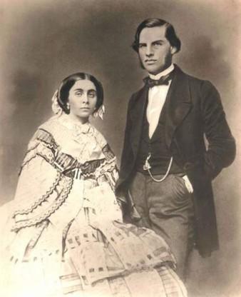 Лакиер Александр Борисович с женой