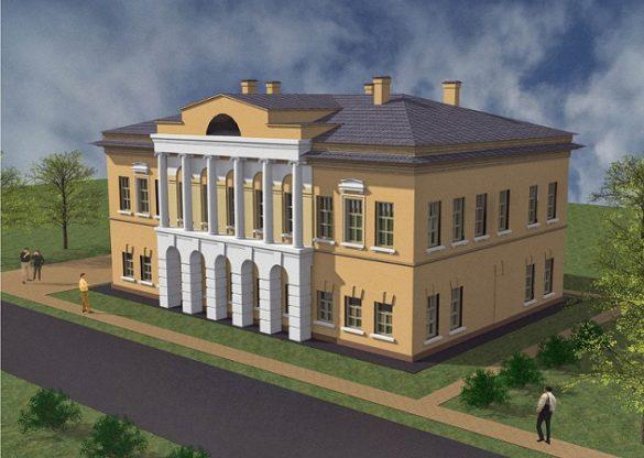 Дом Каратыгина макет реконструкции