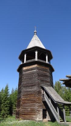 Колокольня, музей Хохловка