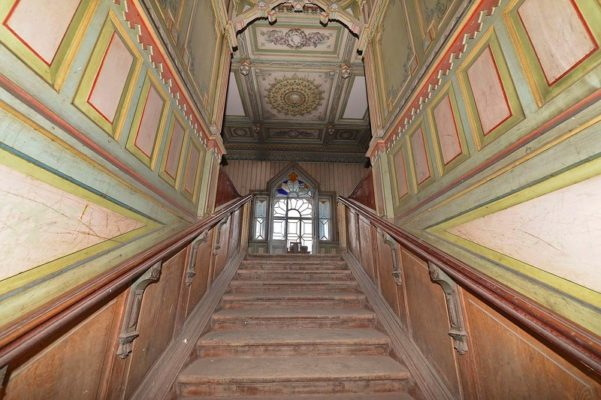 Терем Поляшова лестница на второй этаж