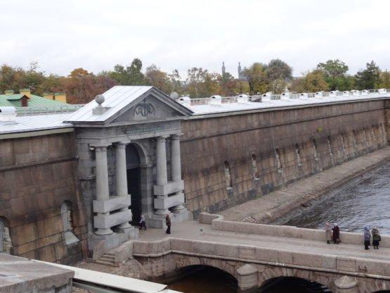Петропавловская крепость: пристань