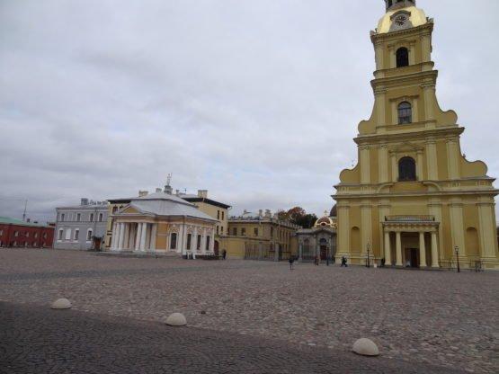 Петропавловская крепость: собор Петра и Павла