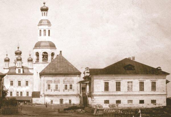 Дом Абамелек-Лазаревых Усолье Пермский край