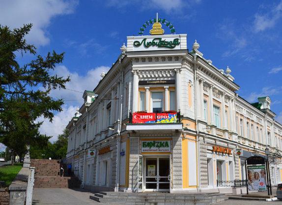 Дом-магазин купчихи Шаниной М.А в Омске