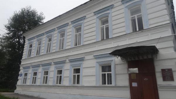 Главный дом усадьбы Алиных Малых