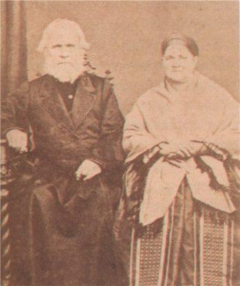 Иосиф (Осип) Семенович Алин (Малый) с женой