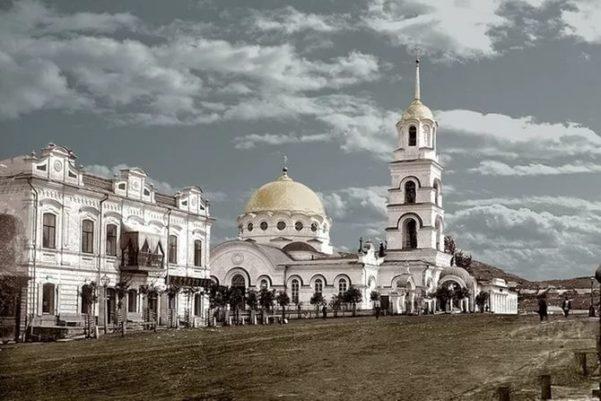 Петропавловская церковь в городе Миассс