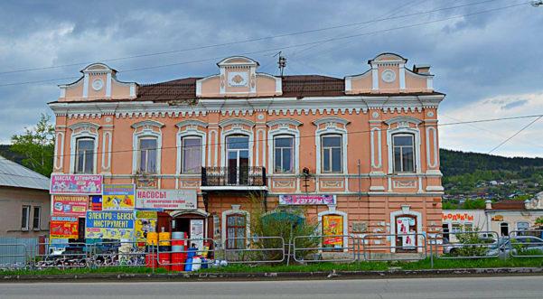 Дом купца и золотопромышленника Жарова Миасс