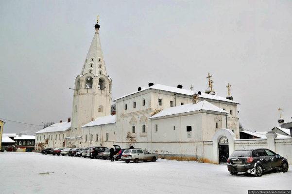 Палаты купцов Ширяевых город Гороховец