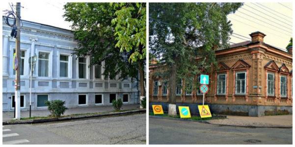 Два дома купца Лопаты в городе Ейск
