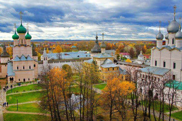 Кремль в городе Ростов