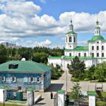 Вознесенско-Георгиевская церковь г. Тюмень