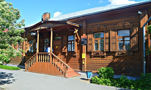 Дом купцов Воробейчиковых в Ялуторовске
