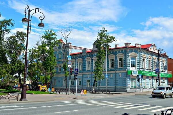 Дом И.П. Войнова и А.А.Багаева