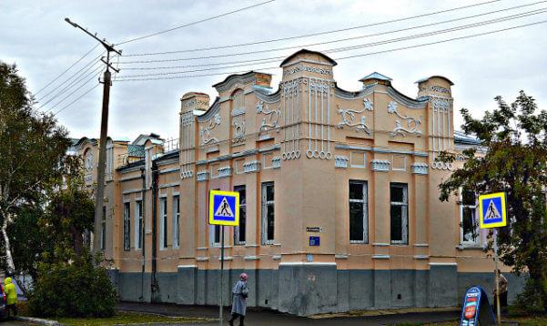 Дом купца Гладких город Троицк, Челябинская облость