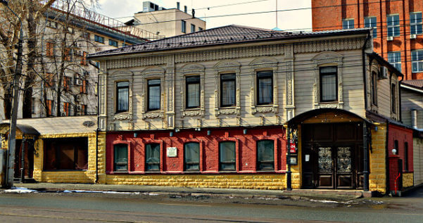 Дом Михаила Шихова в городе Челябинск
