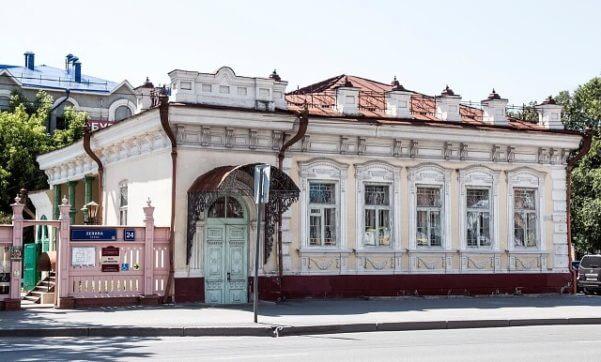 Тюмень музей дома Машарова