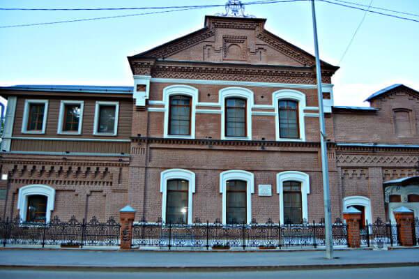 Дом (флигель) купца Новоселова. г. Тюмень