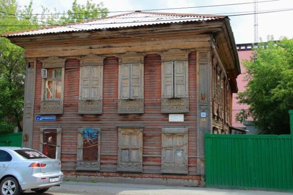 жилой дом Новоселовых