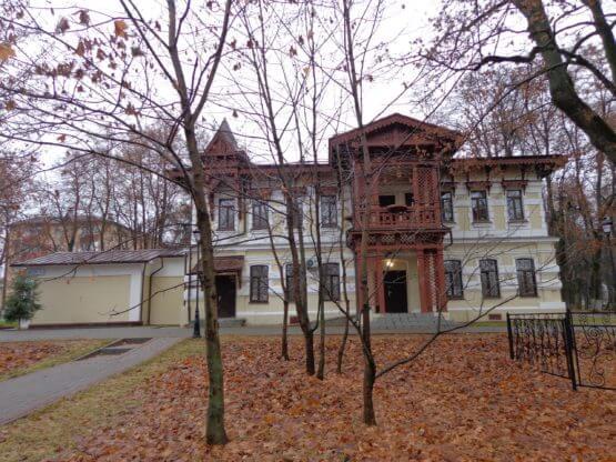 Александрово-Щапово усадебный дом