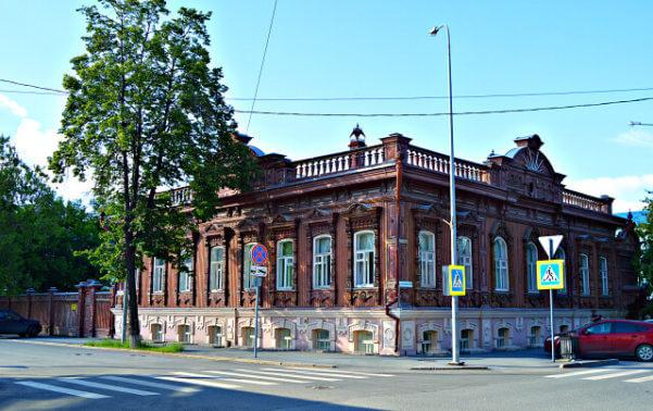 Дом В.П. Буркова Тюмень