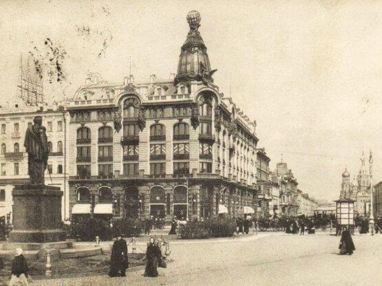 санкт петербург дом компании зингер