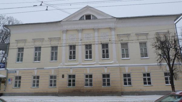 Главный дом усадьбы Карцовых