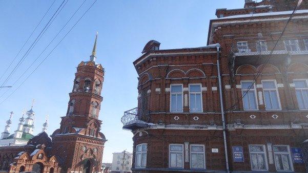 усадьба и церковь кунгур