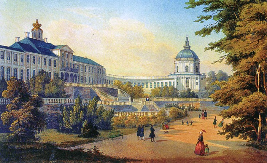 Большой Меншиковский дворец г. Ломоносов