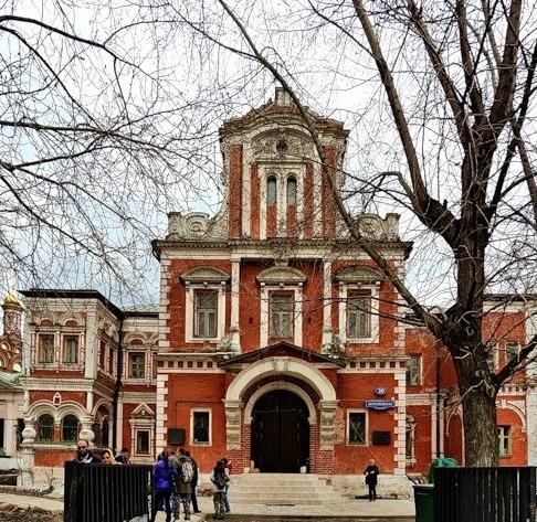 Палаты Аверкия Кириллова главный вход