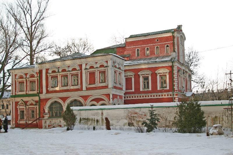 Палаты Аверкия Кириллова вид со стороны