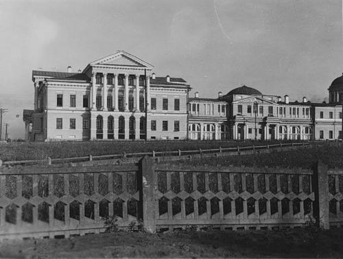 Усадьба Расторгуева-Харитонова 1930 годы