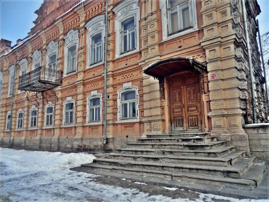 Главный дом усадьбы Симонова