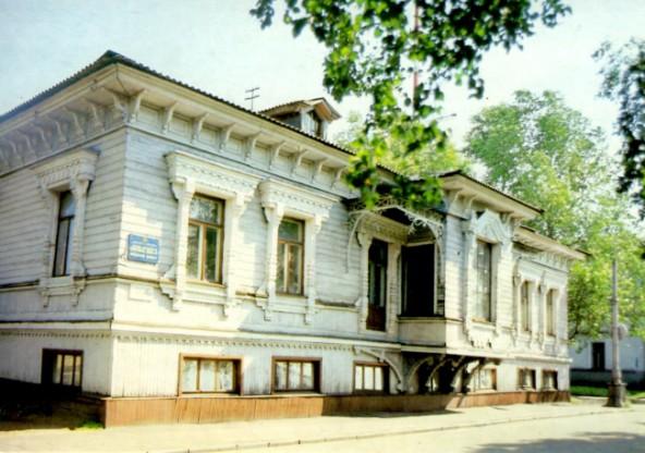 до реставрации особняк Суркова
