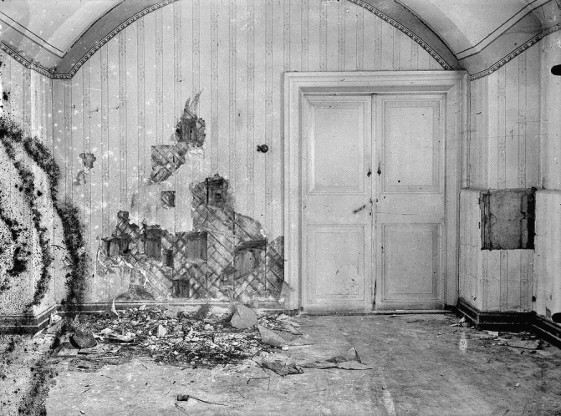 Комната в подвале где была растравлена царская семья